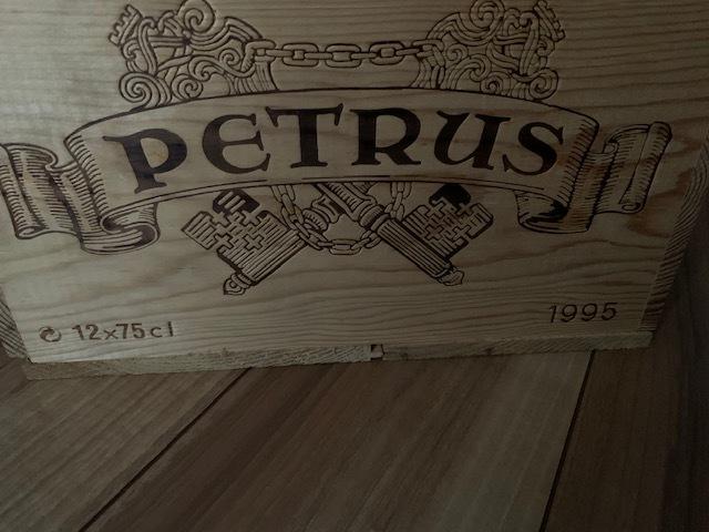 ◆希少レア入手困難ワイン木箱(12本用)◆CHATEAU PETRUS1995◆シャトー・ペトリュス★★★★★★★★★★★★★★★★★★★★★★★_画像5