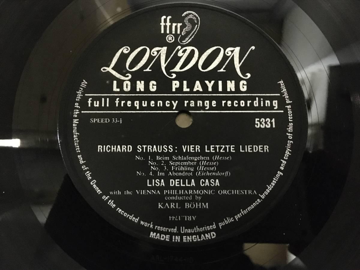 【O-094】4LPBOX 重量盤 シュトラウス「アラベラ」ヒルデ・ギューデン/ジョージ・ロンドン/リーザ・デラ・カーザ/ゲオルク・ショルティ指揮_画像5
