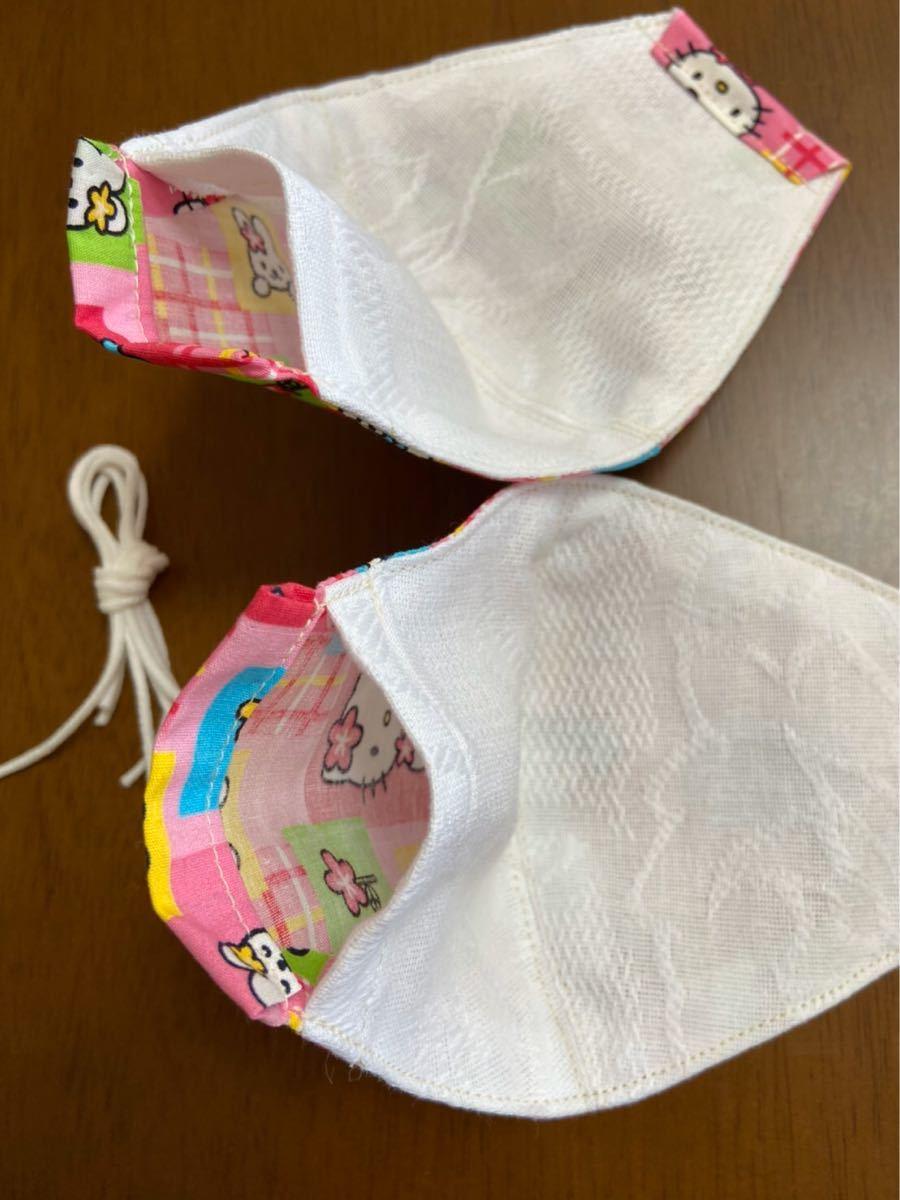 ハンドメイド 子供用 立体マスク 手作り