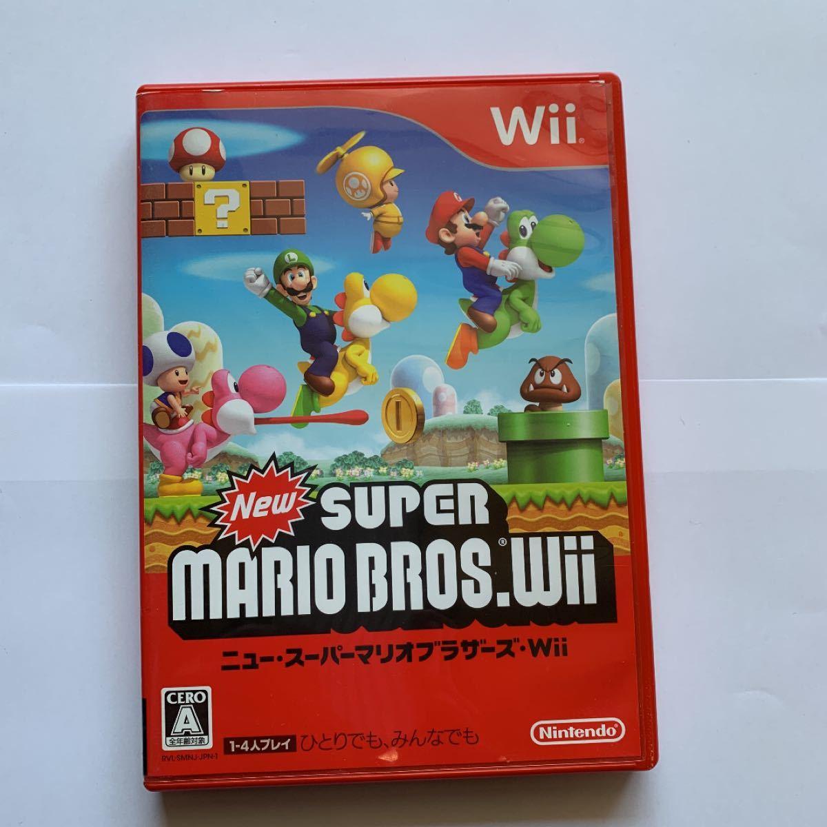New スーパーマリオブラザーズ Wii Wiiソフト
