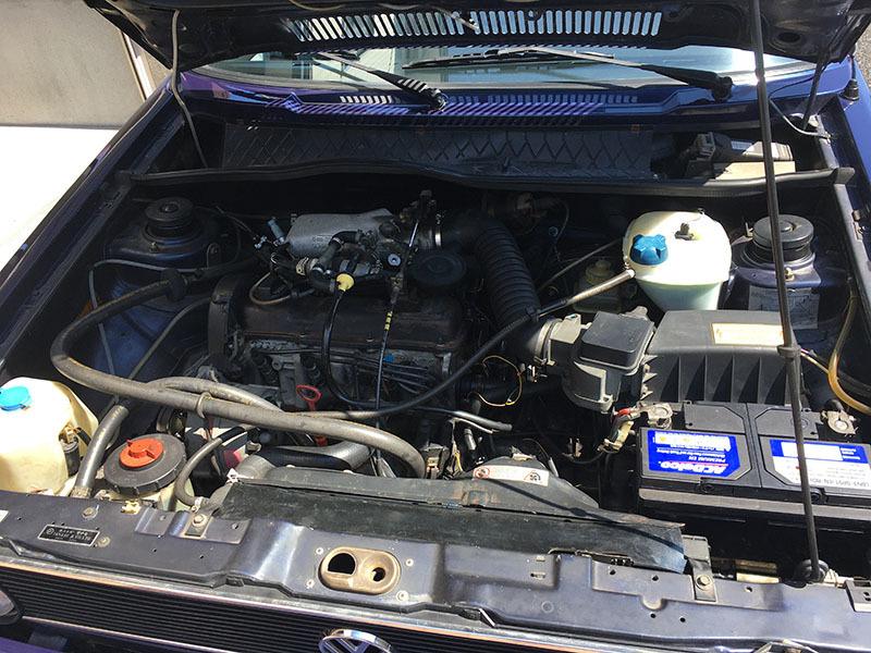 【大幅値下】VW ゴルフIカブリオレ 1992年式 低走行4万km台 電動オープン 2灯グリル 幌張替え済み GOLF ワーゲン 状態良好_画像8