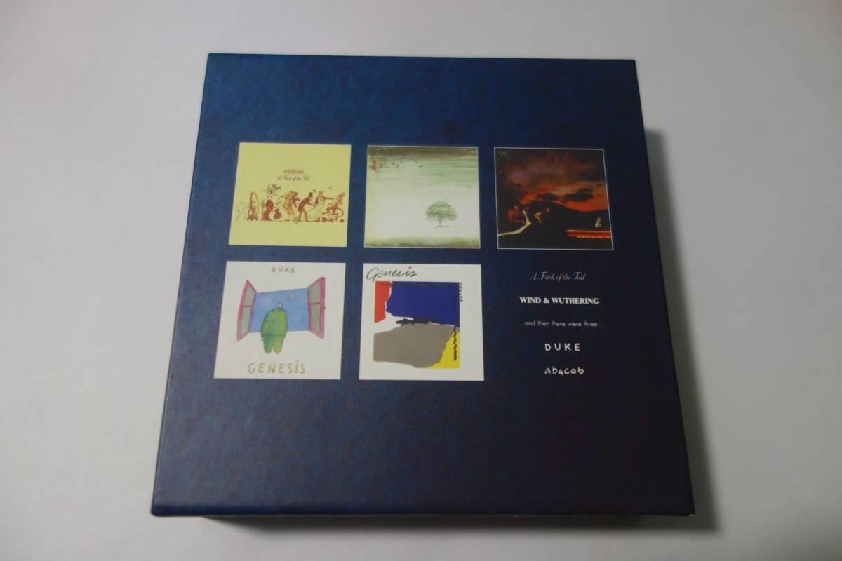 ★Genesis(ジェネシス) 1976-1982 (中期) SACD購入特典 紙ジャケ用 BOX★紙ジャケット CDなし_画像3