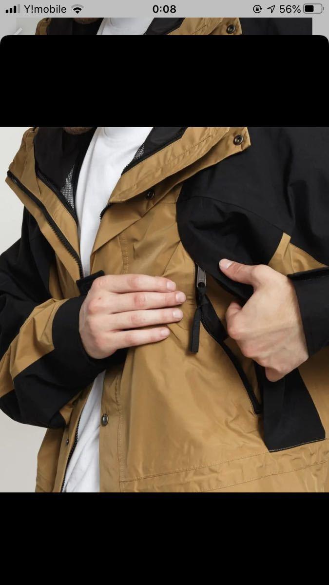 海外限定 1994 mountain light jacket マウンテンライトジャケット ブリティッシュカーキ XS THE NORTH FACE GORE-TEX