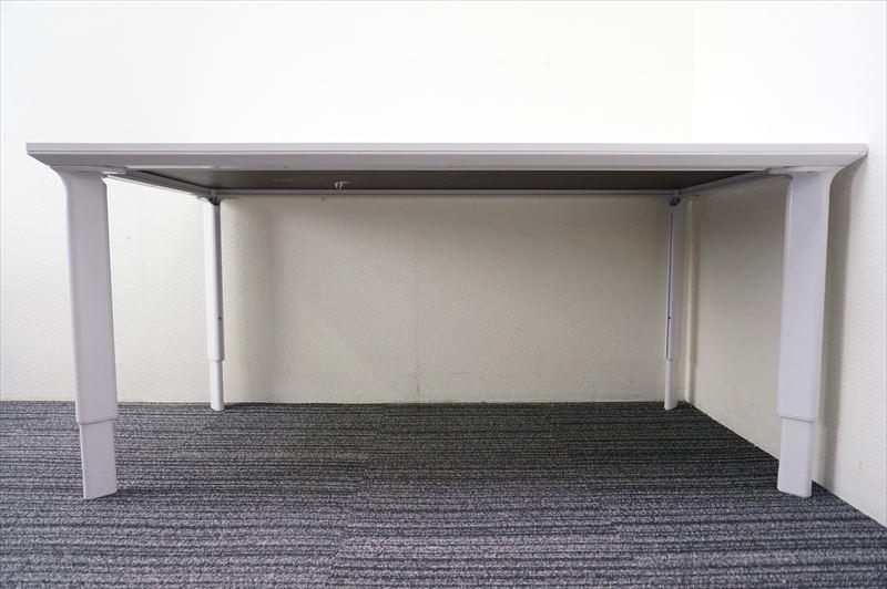 【大量在庫】【中古】ヘイワース Allways ミーティングテーブル 1680 H600-860_画像5