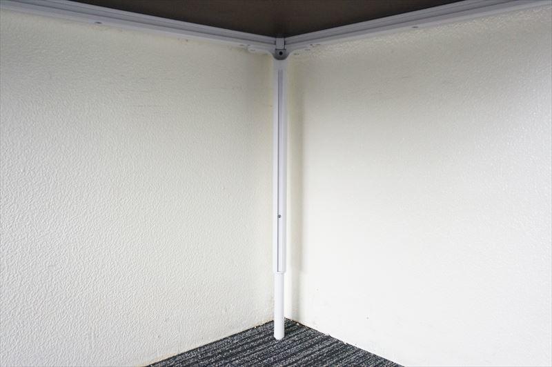 【大量在庫】【中古】ヘイワース Allways ミーティングテーブル 1680 H600-860_画像9