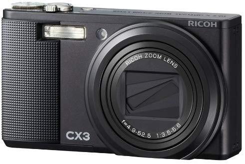 中古 良品 RICOH CX3 ブラック リコー コンデジ デジカメ コンパクト デジタルカメラ_画像1