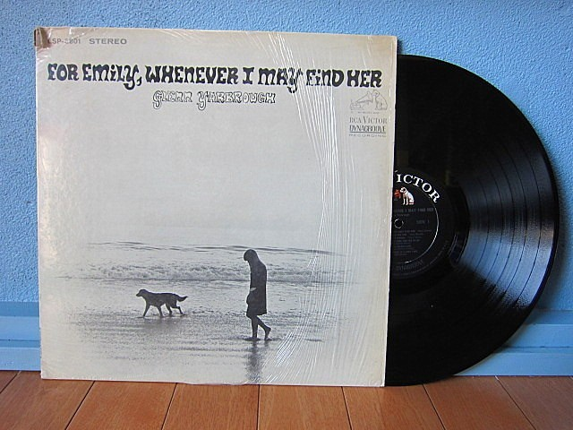GLENN YARBROUGH★FOR EMILY, WHENEVER I MAY FIND HER RCA VICTOR LSP-3801★200424t4-rcd-12インチレコードシュリンクLPオリジナルUS盤