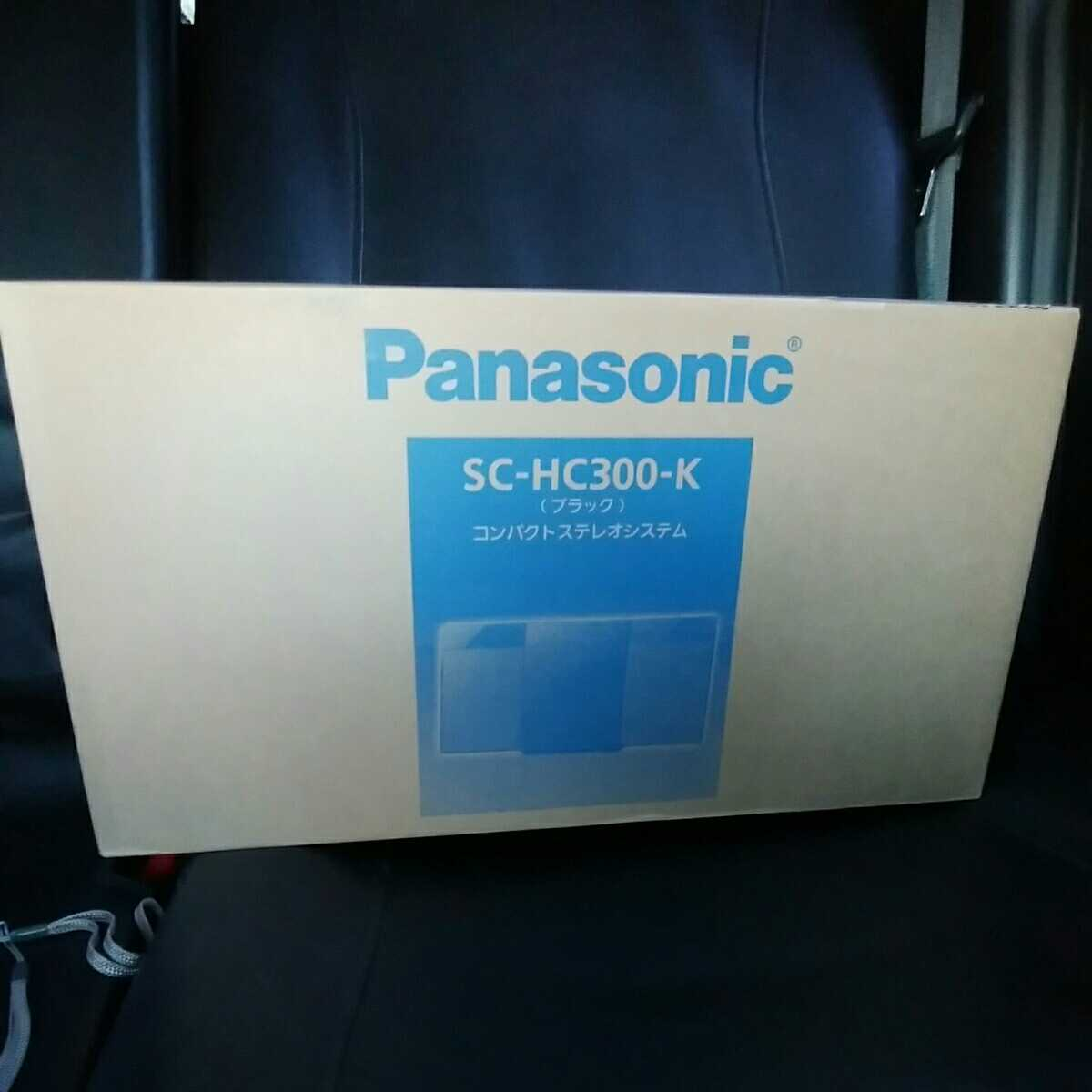 パナソニック Panasonic コンパクトステレオシステム SC-HC300_画像1