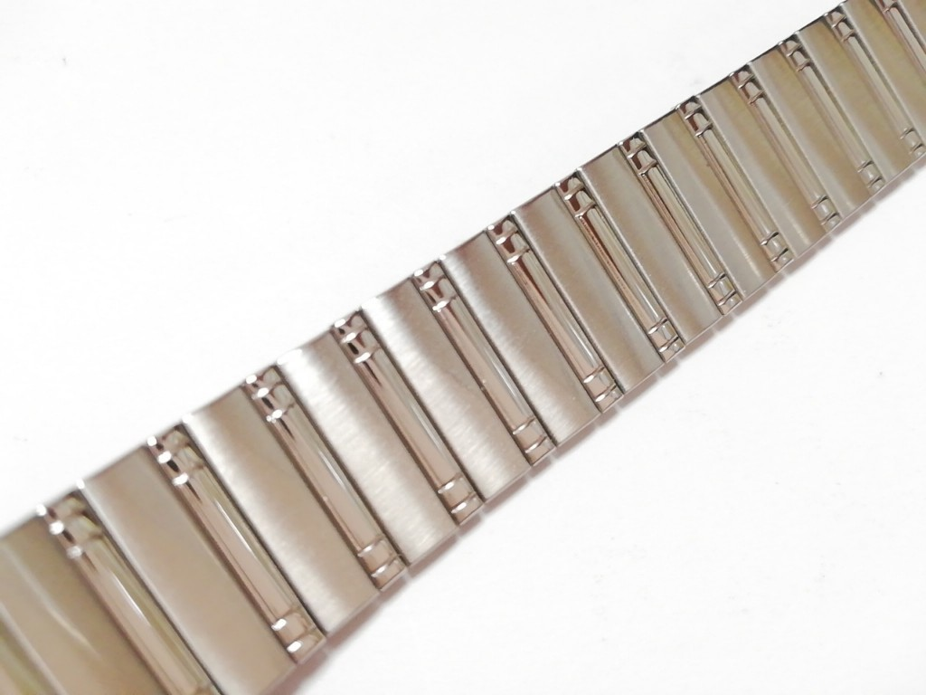 【Speidel】USA アメリカ 当時もの ウォッチバンド 18-22mm 伸縮ブレス メンズ腕時計金属ベルト ビンテージウォッチに MB525_画像3