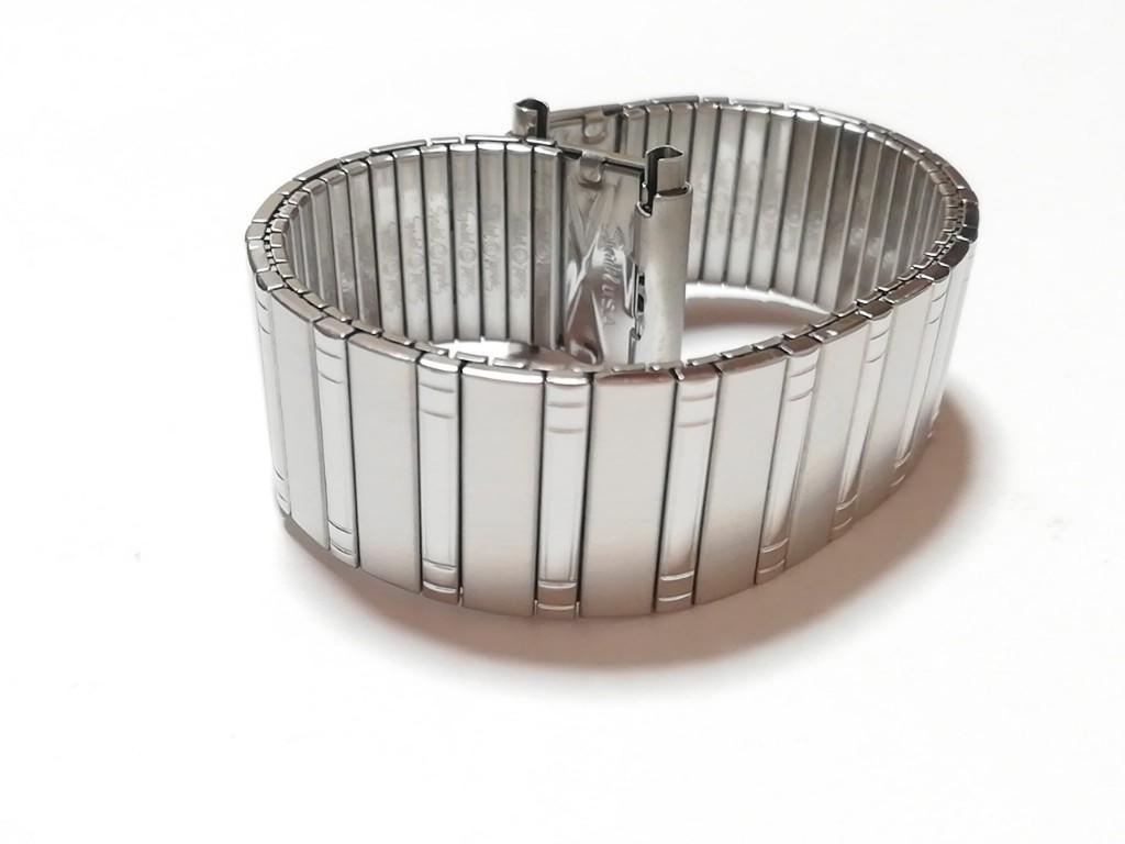【Speidel】USA アメリカ 当時もの ウォッチバンド 18-22mm 伸縮ブレス メンズ腕時計金属ベルト ビンテージウォッチに MB525_画像1
