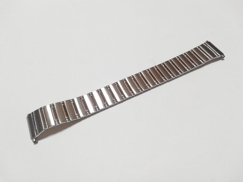 【Speidel】USA アメリカ 当時もの ウォッチバンド 18-22mm 伸縮ブレス メンズ腕時計金属ベルト ビンテージウォッチに MB525_画像2