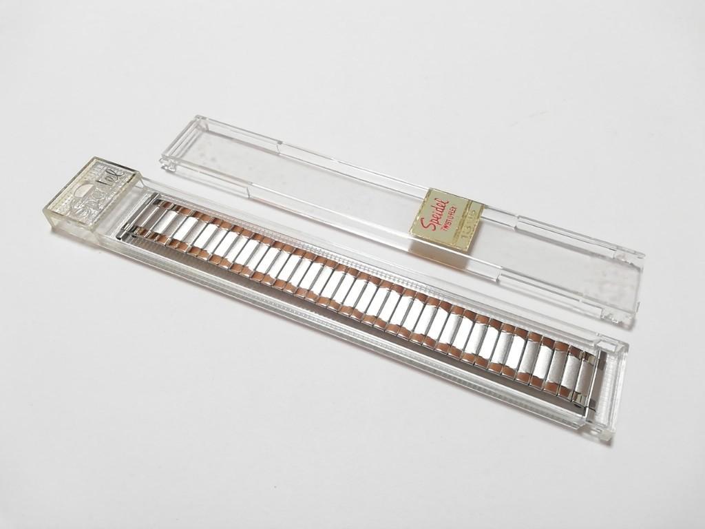 【Speidel】 USA 腕時計バンド 18-22mm デッドストック エクスパンションベルト アンティークウォッチ/ビンテージウォッチに MB533_画像7