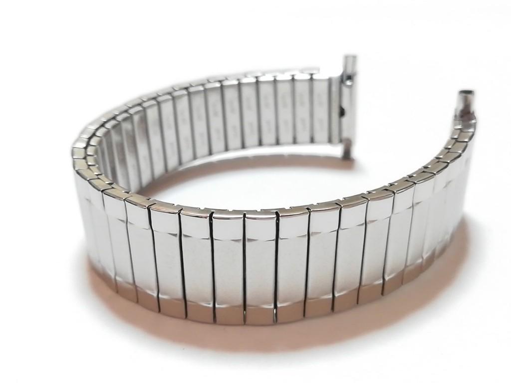 【Speidel】 USA 腕時計バンド 18-22mm デッドストック エクスパンションベルト アンティークウォッチ/ビンテージウォッチに MB533_画像6