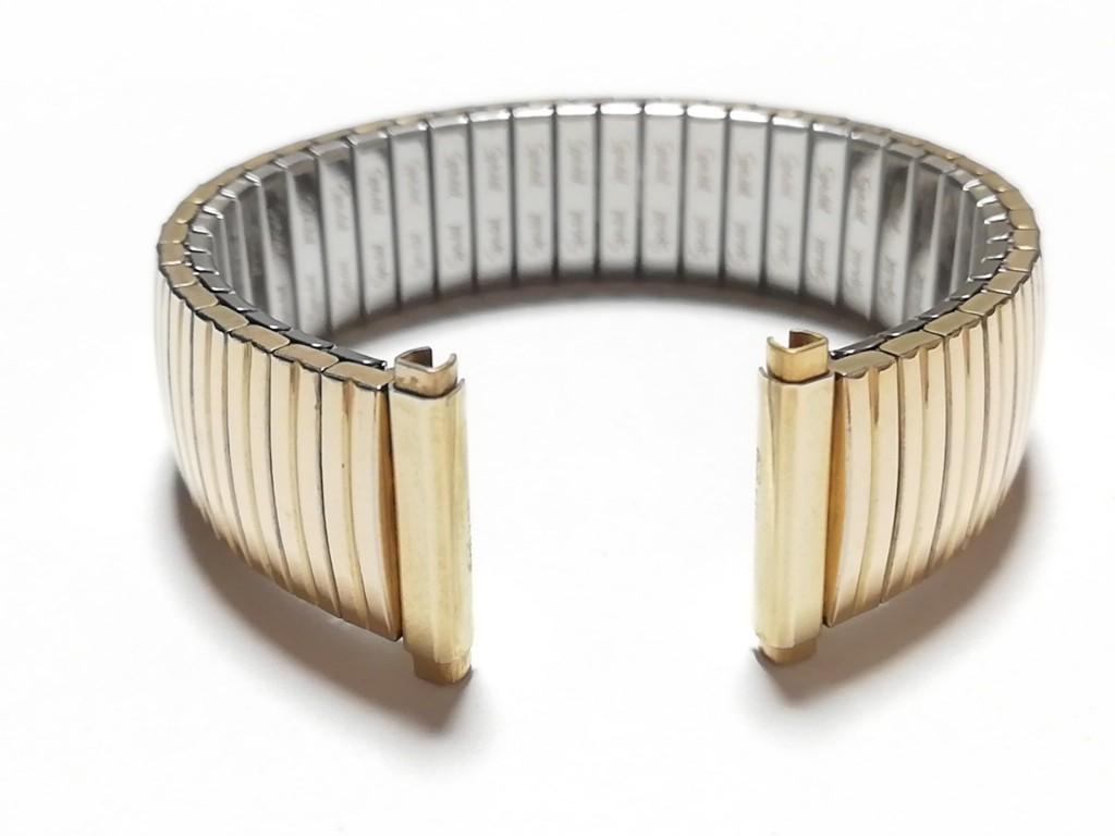 【Speidel】 USA 腕時計バンド 16-19mm デッドストック エクスパンションベルト アンティークウォッチ/ビンテージウォッチに MB546_画像8