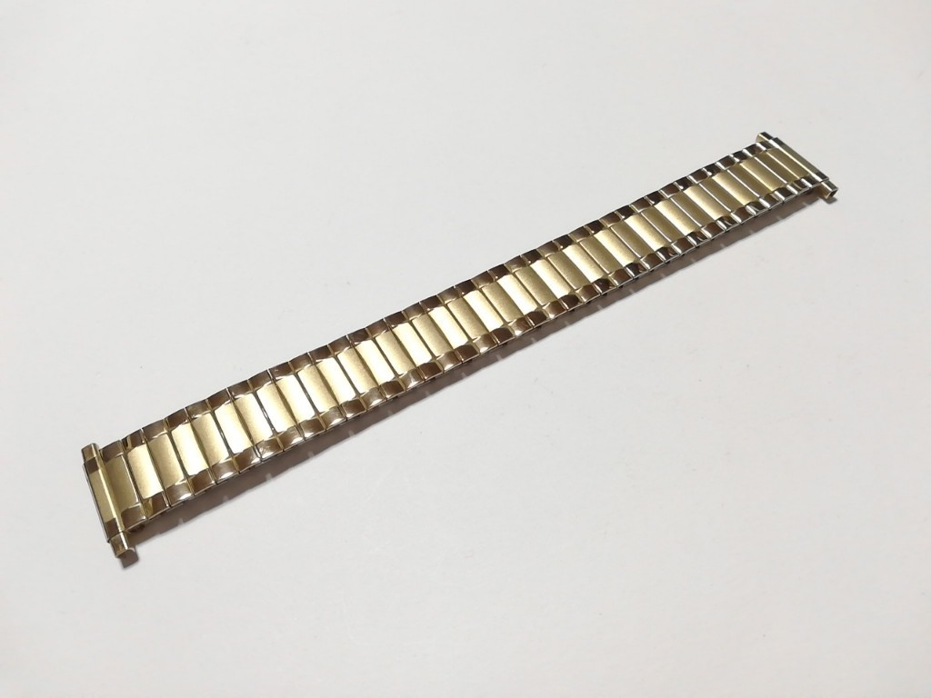 【Speidel】 USA 腕時計バンド 17-22mm デッドストック エクスパンションベルト アンティークウォッチ/ビンテージウォッチに MB548_画像7