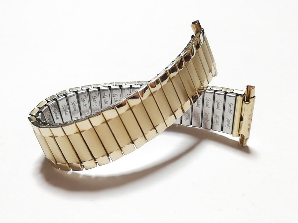 【Speidel】 USA 腕時計バンド 17-22mm デッドストック エクスパンションベルト アンティークウォッチ/ビンテージウォッチに MB548_画像1