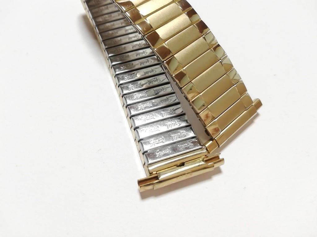 【Speidel】 USA 腕時計バンド 17-22mm デッドストック エクスパンションベルト アンティークウォッチ/ビンテージウォッチに MB548_画像6