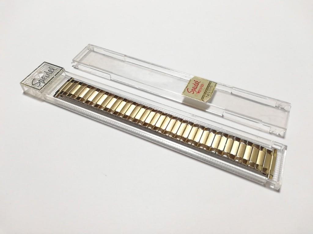 【Speidel】 USA 腕時計バンド 17-22mm デッドストック エクスパンションベルト アンティークウォッチ/ビンテージウォッチに MB548_画像9
