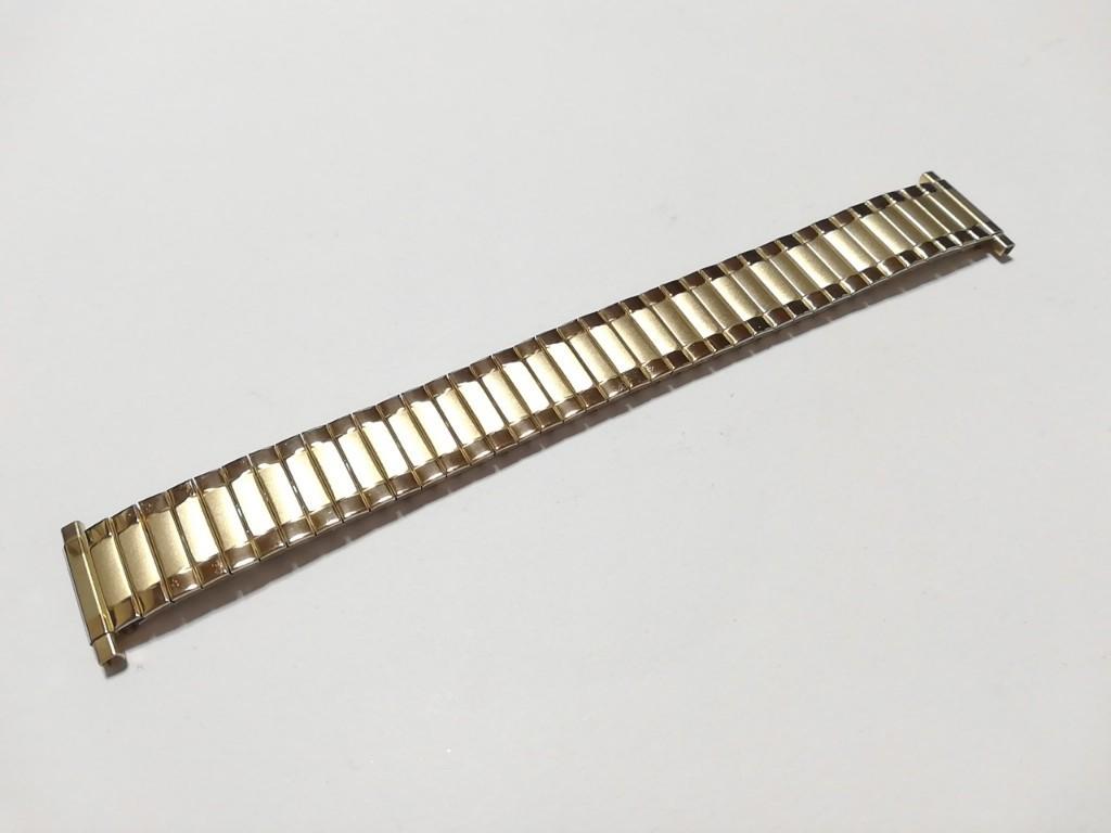 【Speidel】USA アメリカ 当時もの ウォッチバンド 17-22mm 伸縮ブレス メンズ腕時計金属ベルト ビンテージウォッチに MB556_画像3