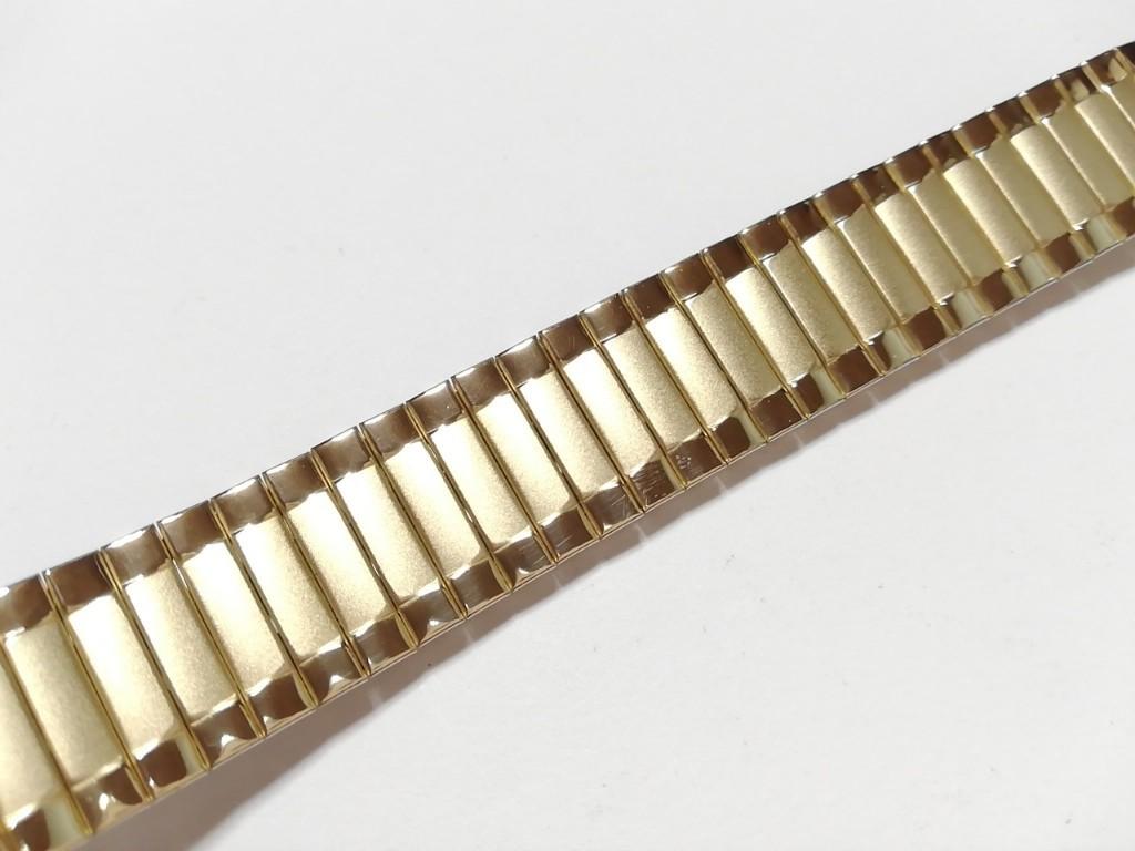 【Speidel】USA アメリカ 当時もの ウォッチバンド 17-22mm 伸縮ブレス メンズ腕時計金属ベルト ビンテージウォッチに MB556_画像2