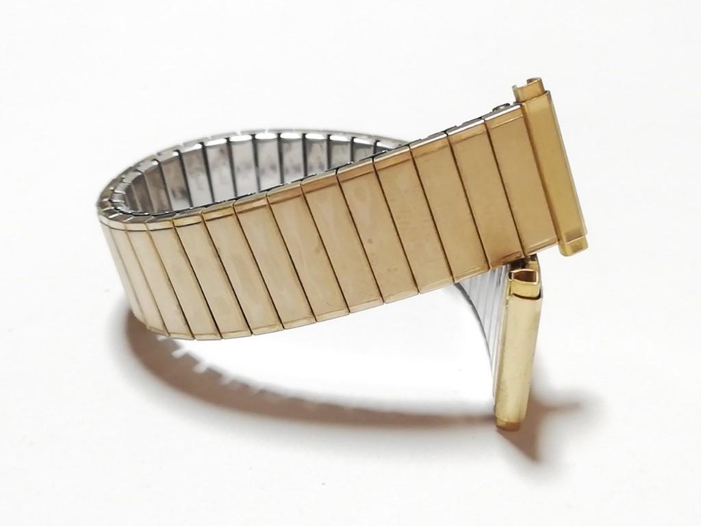 【Speidel】 腕時計伸縮バンド 16-19mm デッドストック エクスパンションベルト アンティークウォッチ/ビンテージウォッチに MB562_画像6