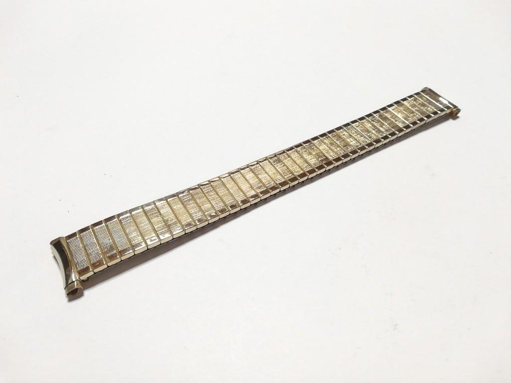 【Speidel】USA アメリカ 当時もの ウォッチバンド 16-19mm 伸縮ブレス メンズ腕時計金属ベルト ビンテージウォッチに MB567_画像5