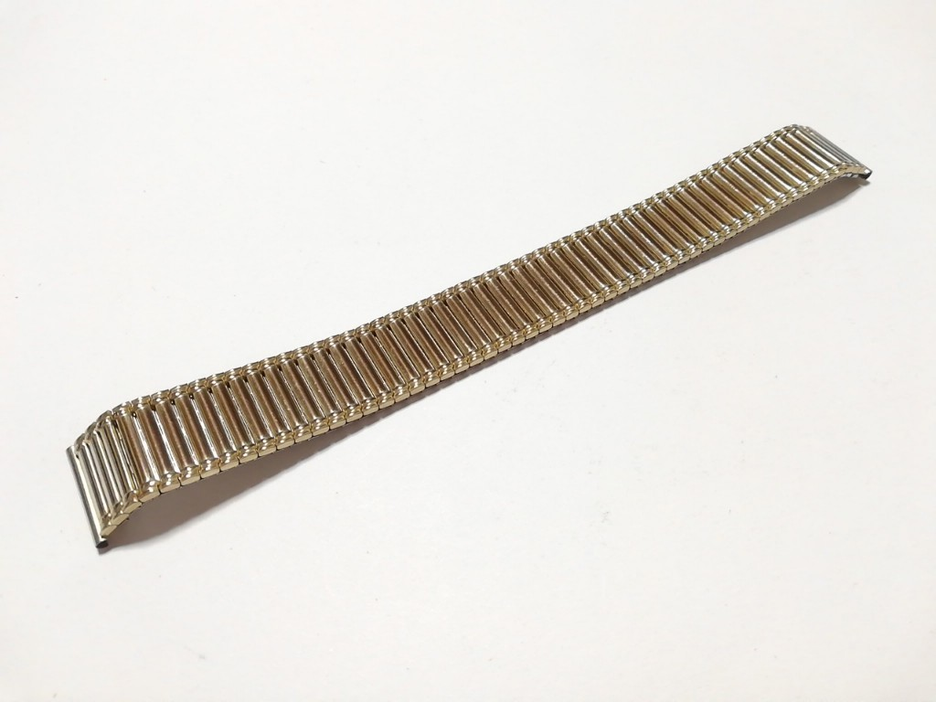 【Speidel】 伸縮 腕時計バンド 18mm デッドストック エクスパンションベルト アンティークウォッチ/ビンテージウォッチに MB573_画像5