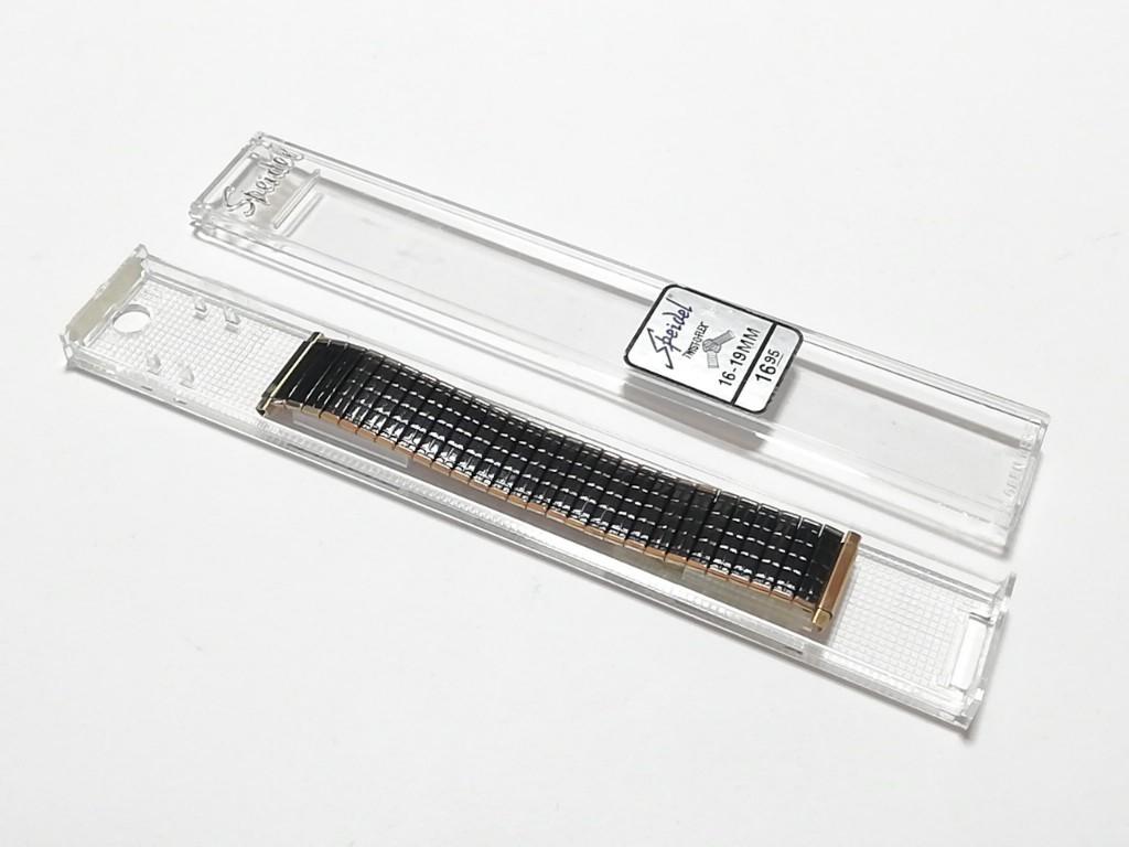 【Speidel】 USA 腕時計バンド 16-22mm デッドストック エクスパンションベルト アンティークウォッチ/ビンテージウォッチに MB581_画像8