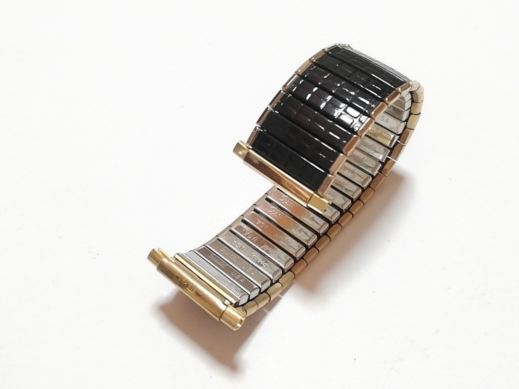 【Speidel】 USA 腕時計バンド 16-22mm デッドストック エクスパンションベルト アンティークウォッチ/ビンテージウォッチに MB581_画像7