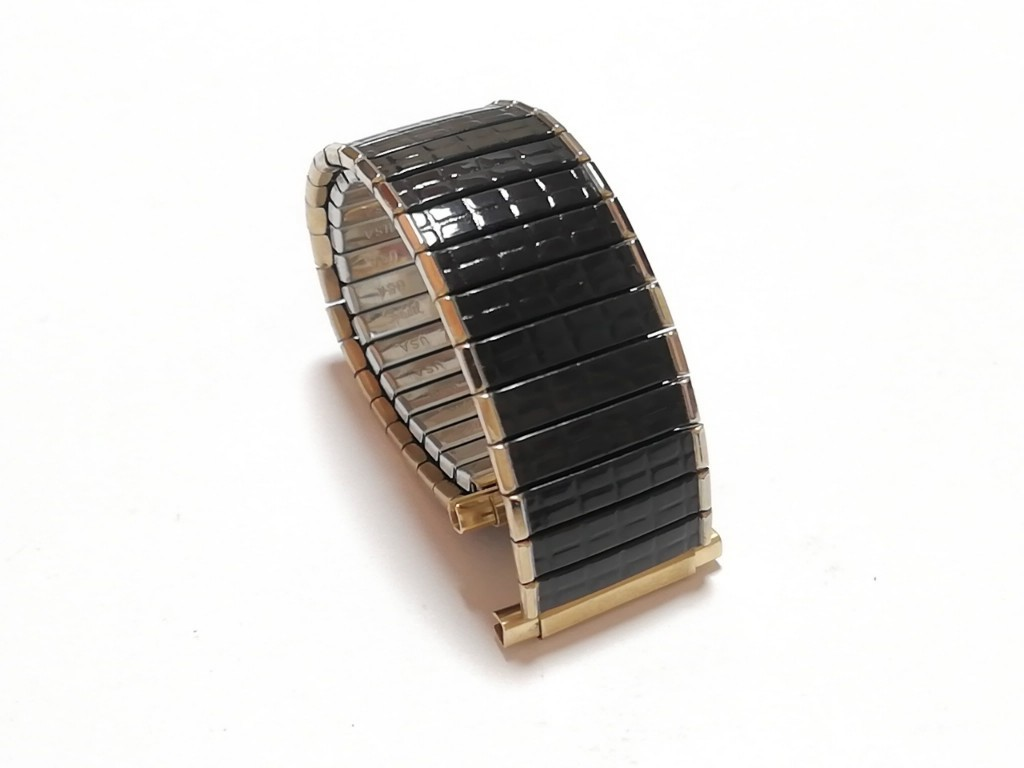 【Speidel】 USA 腕時計バンド 16-22mm デッドストック エクスパンションベルト アンティークウォッチ/ビンテージウォッチに MB581_画像3