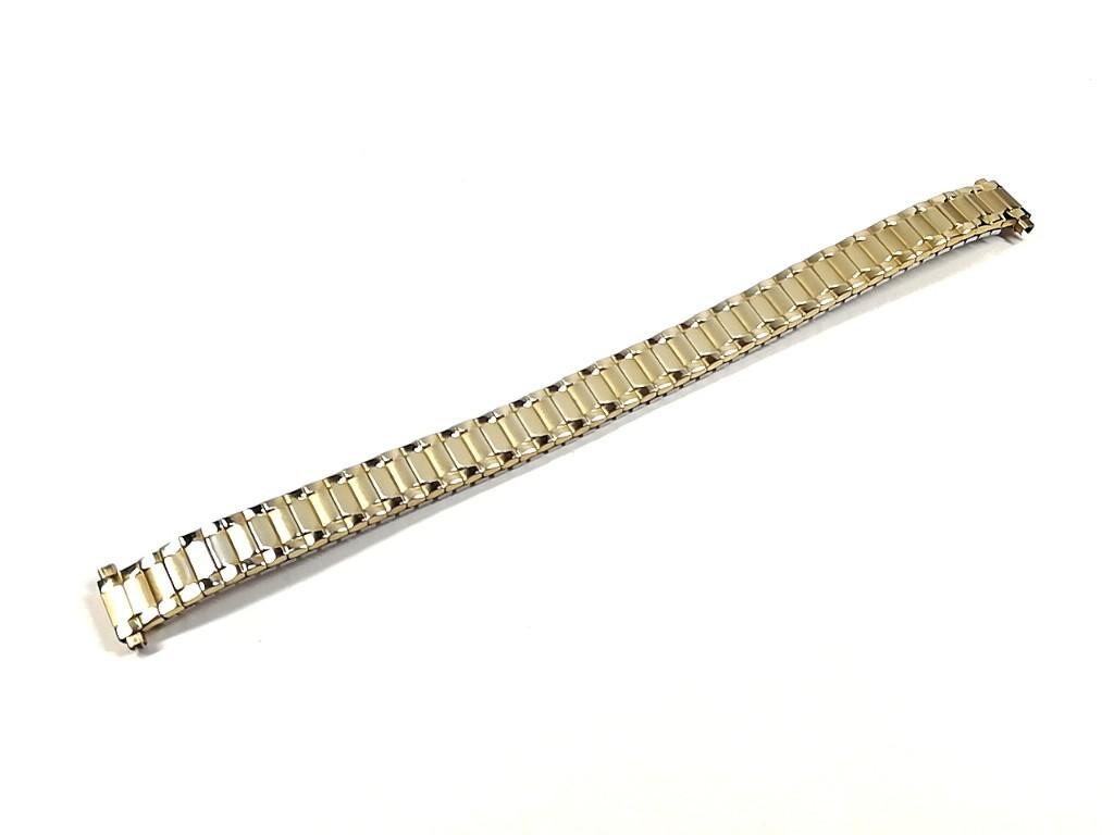 【Speidel】 当時もの USA レディースウォッチブレス 伸縮タイプ 女性用腕時計バンド アンティークウォッチ/ビンテージウォッチに LB675_画像3