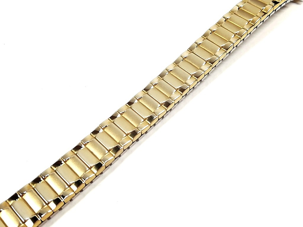 【Speidel】 当時もの USA レディースウォッチブレス 伸縮タイプ 女性用腕時計バンド アンティークウォッチ/ビンテージウォッチに LB675_画像1