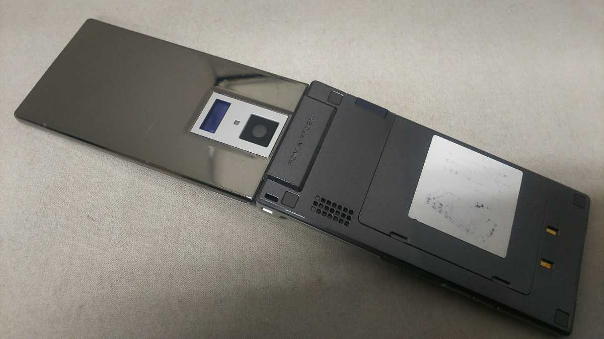 docomo FOMA P703iμ #23 Panasonic ガラケー ケータイ 簡易動作確認&簡易清掃&初期化OK 判定○_画像5
