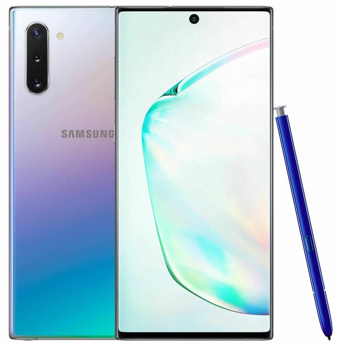 【未開封】 Samsung Galaxy Note10 SM-N9700 Dual SIM 香港版SIMフリー 8GB/256GB オーラ