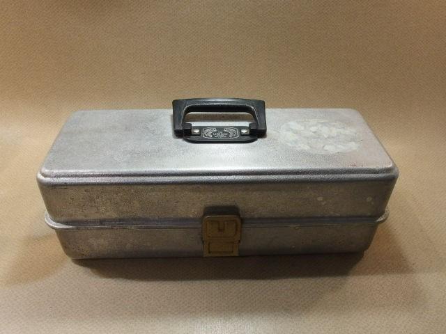 アムコ UMCO 173A アルミ オールド タックルボックス (19063_画像1