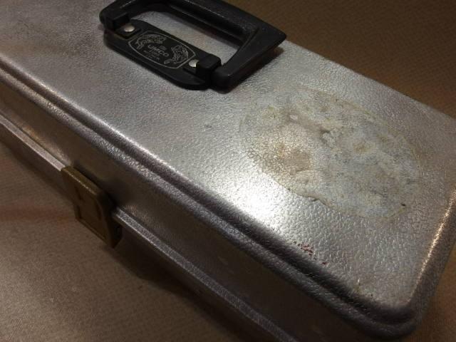 アムコ UMCO 173A アルミ オールド タックルボックス (19063_画像3