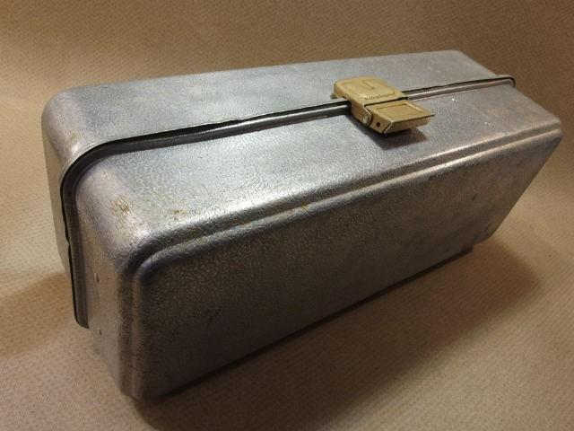 アムコ UMCO 173A アルミ オールド タックルボックス (19063_画像5