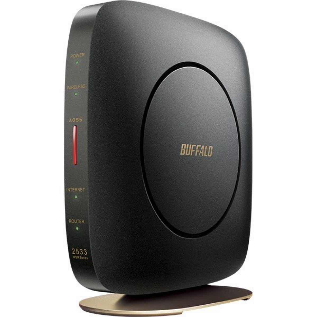 BUFFALO WSR-2533DHP2-CB 無線LANルーター