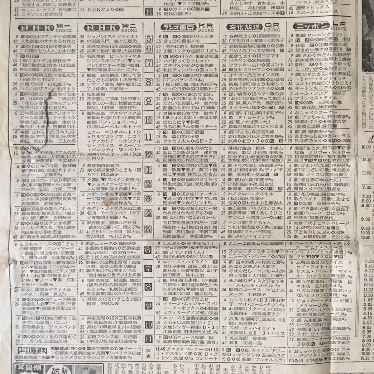 番組 テレビ 表 県 長野