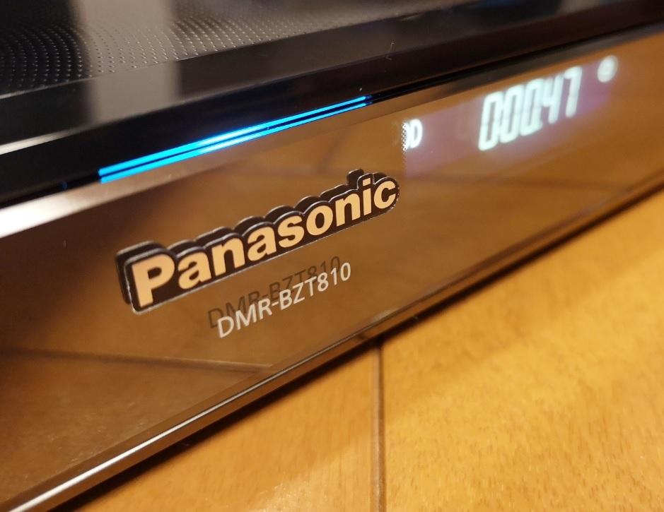◆◆ [ 1TB → 8TB 新品ヘリウム充填HD換装済 HDD1年保証]Panasonic DIGA DMR-BZT810 美品・取説コピー・各ケーブル・動作品 [送料無料]