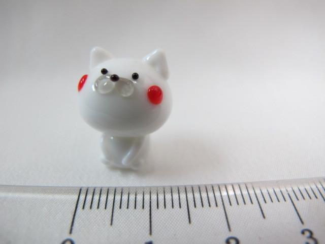 ★即決 NEW ミニチュアガラス細工 ネコロン ねこ 猫 【ZM】_画像1
