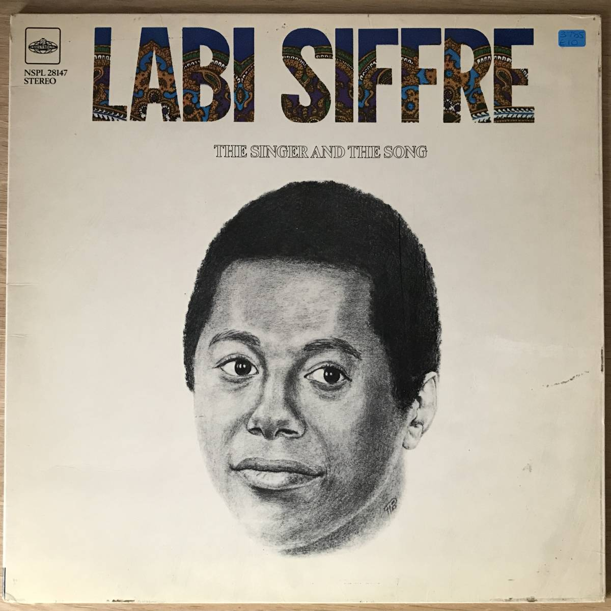 LABI SIFFRE The Singer And The Song UK ORIG LP_画像1