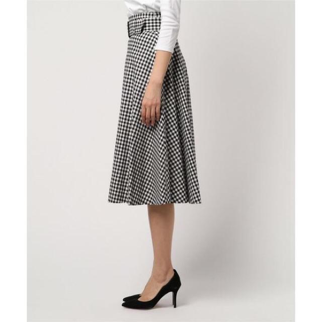 美品 店舗限定 バーバリーブルーレーベル クレストブリッジ ロングスカート 38_画像2