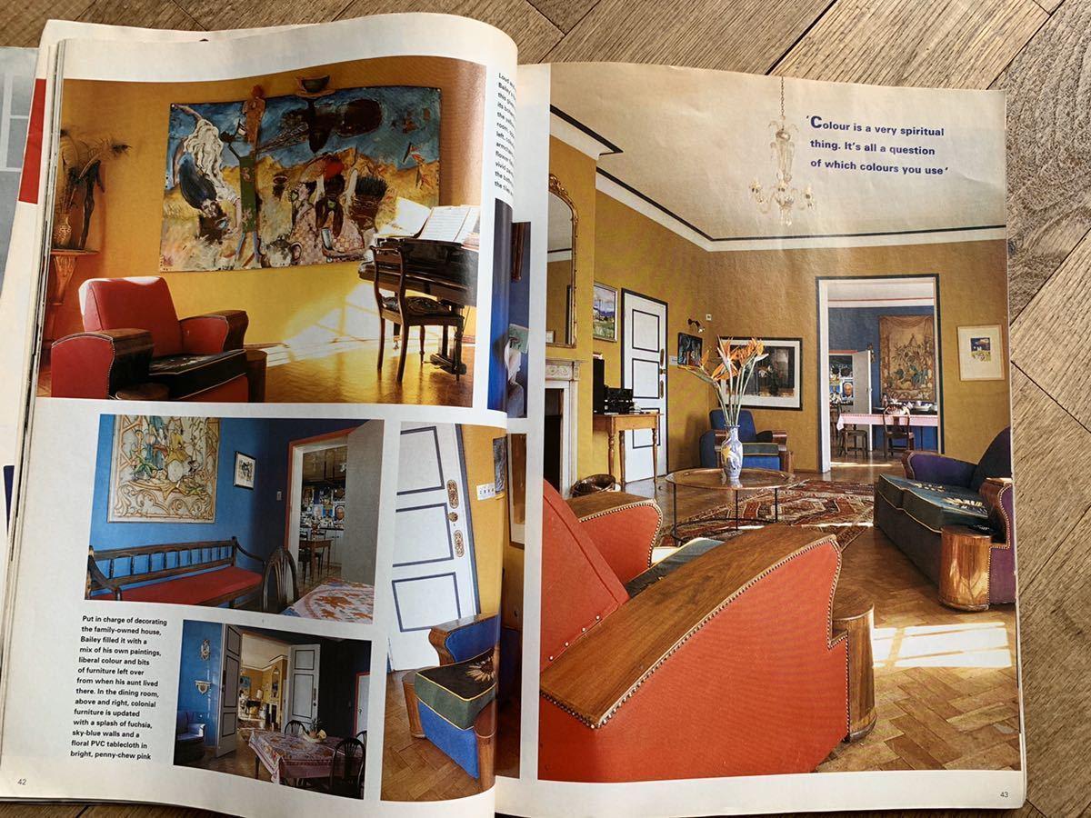 95年 ELLE ヴィンテージ 洋書 インテリアコーディネート 古書 アイディア ガーデニング DIY 家具 フランス ヨーロッパ 参考書 アンティーク