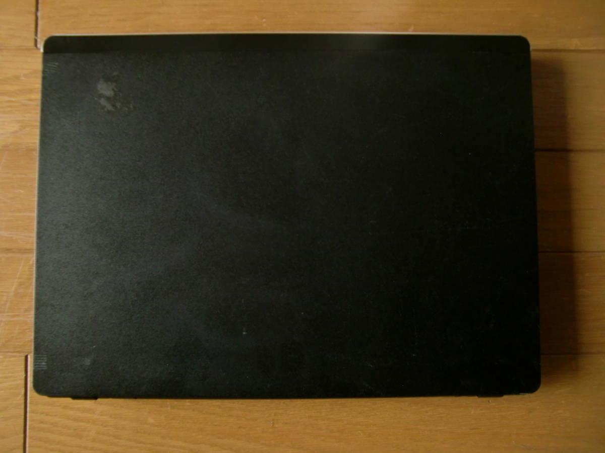 Clevo ミニ M735T 無線LAN DVD-RW リカバリ 美品 完動即使用可_画像3