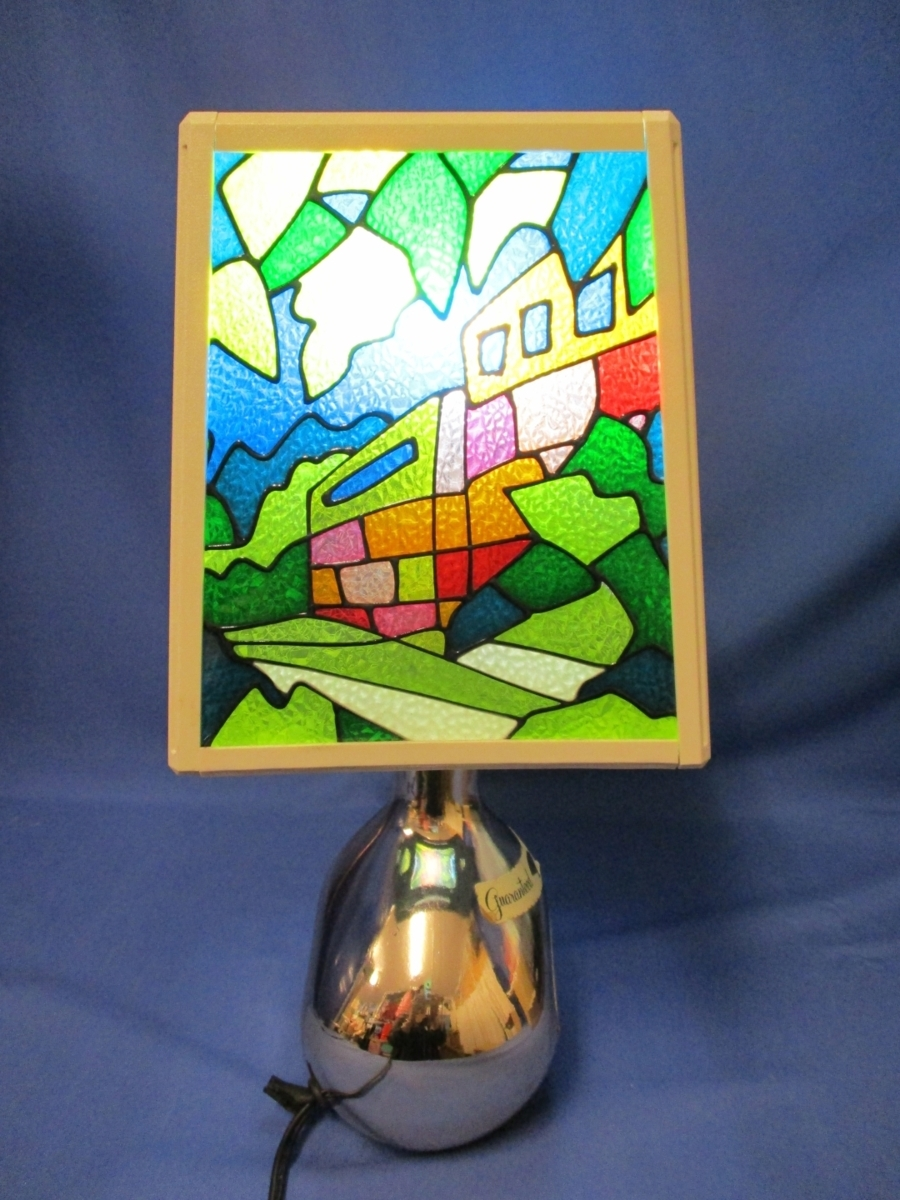 Y20041501 ニッカウヰスキー ニッカウィスキー スタンド ランプ レア レトロ アンティーク 中古 箱なし_画像4