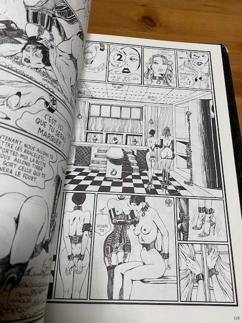 洋書大判 O嬢の物語 1・2 Histoire d'O グイド・クレパックス Guido Crepax コミック バンド・デシネ フェティッシュ エロティック SM_画像6