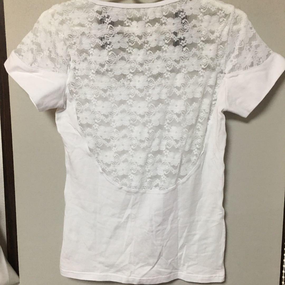 トップス Tシャツ カットソー M 身幅37 着丈54