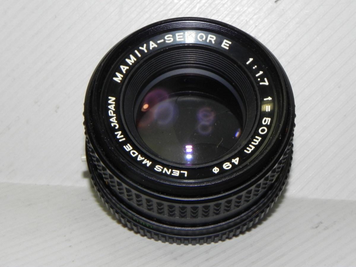 mamiya-sekor E 50mm/f1.7 レンズ(ジャンク品)_画像2