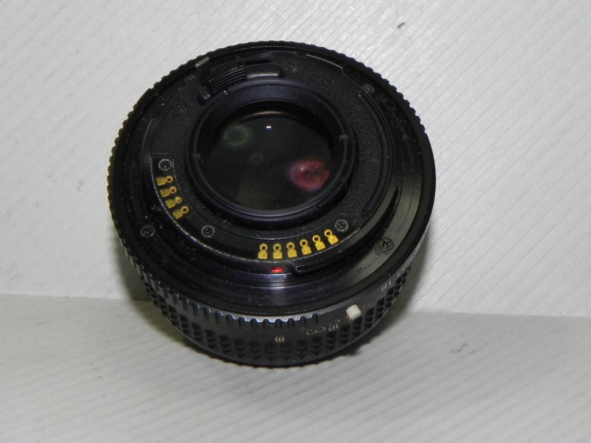 mamiya-sekor E 50mm/f1.7 レンズ(ジャンク品)_画像3
